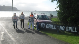 Protesting Shell on the Peninsula