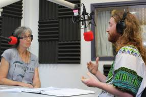 Oil Free Otago Radio on Otago Access Radio. Rosemary Penwarden with St. John from North West Mayo, Ireland where nonviolent direct action has kept Shell in a pickle for nearly 15 years.
